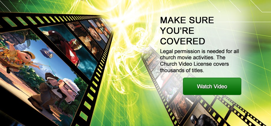 Church Video License