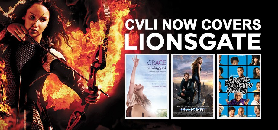 CVLI Now Covers Lionsgate
