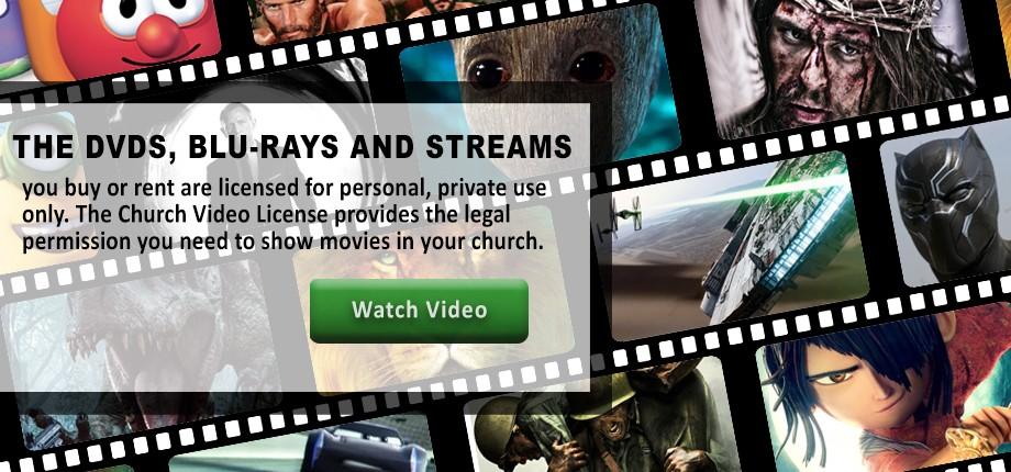 Church DVDs Blu-rays Streams